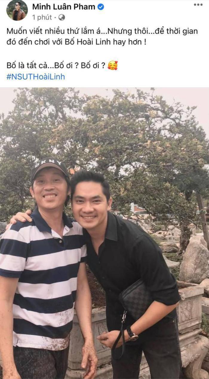 Giữa lùm xùm với bà Phương Hằng, Hoài Linh bất ngờ lộ diện bên cạnh diễn viên Minh Luân? Ảnh 2