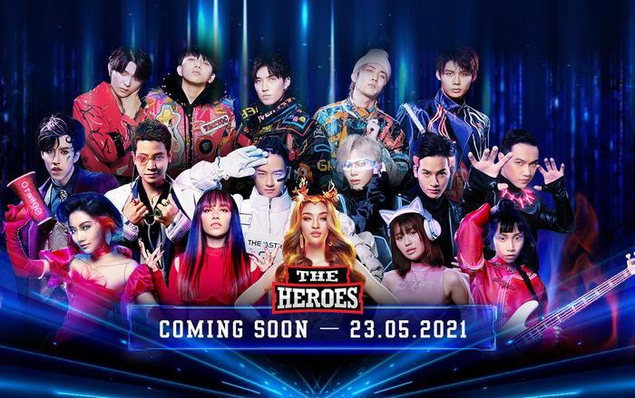 The Heroes 2021 tung hình hiệu đẳng cấp, khẳng định show âm nhạc hot nhất mùa Hè là đây? Ảnh 1