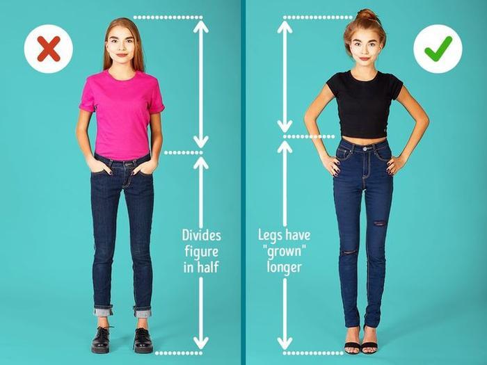 7 mẹo thời trang giúp 'kéo' chân cho các nàng vóc dáng nhỏ nhắn Ảnh 7