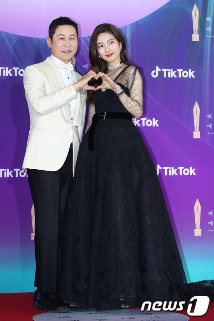 Thảm đỏ 'Baeksang 2021': Kim So Yeon áp đảo Suzy, Song Joong Ki - Kim So Hyun - Lee Jun Ki xuất thần! Ảnh 1