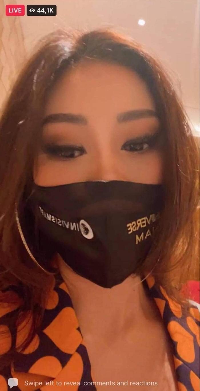 """Hoa hậu Khánh Vân khiến """"đối thủ"""" nước bạn phải trầm trồ vì điều này Ảnh 2"""
