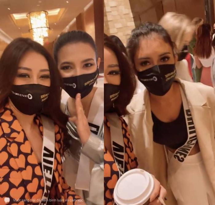 """Hoa hậu Khánh Vân khiến """"đối thủ"""" nước bạn phải trầm trồ vì điều này Ảnh 3"""