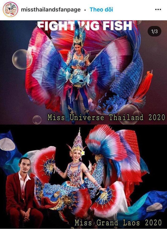 Trang phục dân tộc hoa hậu Thái Lan thiếu hiệu ứng, vướng scandal 'đạo nhái' vẫn hot rần rần Ảnh 3