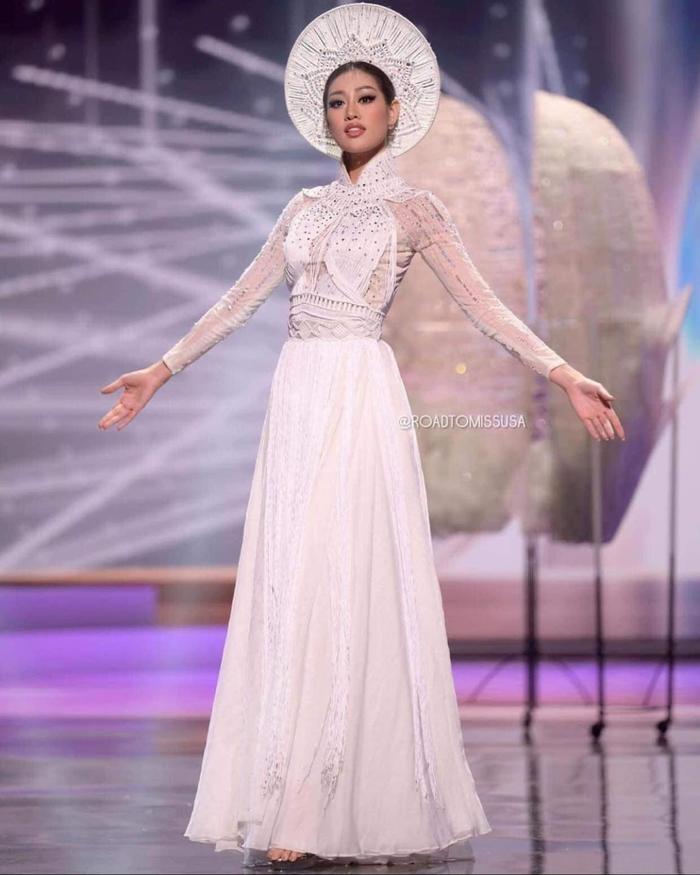 Hậu 'càn quét' Miss Universe 2020 với Kén Em, Khánh Vân gửi lời tri ân và phản ứng của loạt sao Việt Ảnh 8