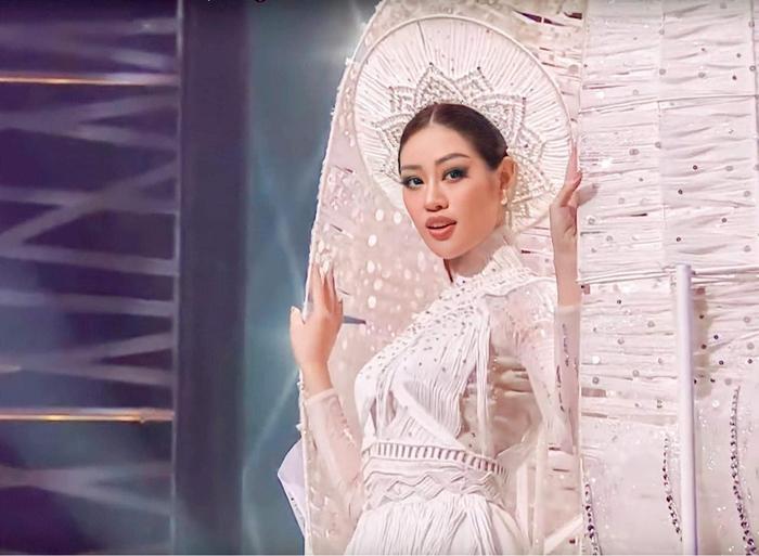 Hậu 'càn quét' Miss Universe 2020 với Kén Em, Khánh Vân gửi lời tri ân và phản ứng của loạt sao Việt Ảnh 7