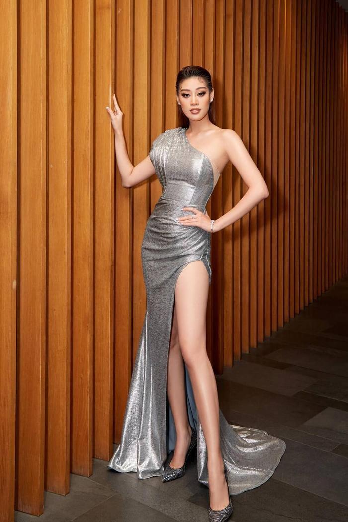 Hậu 'càn quét' Miss Universe 2020 với Kén Em, Khánh Vân gửi lời tri ân và phản ứng của loạt sao Việt Ảnh 11