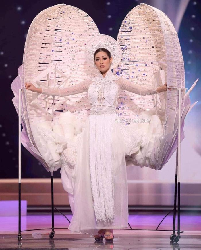 Hậu 'càn quét' Miss Universe 2020 với Kén Em, Khánh Vân gửi lời tri ân và phản ứng của loạt sao Việt Ảnh 6