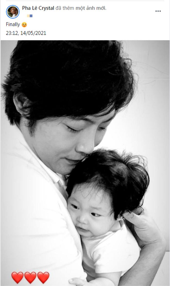 Pha Lê gây xúc động khi chia sẻ khoảnh khắc chồng và con gái gặp nhau sau mấy tháng xa cách Ảnh 3