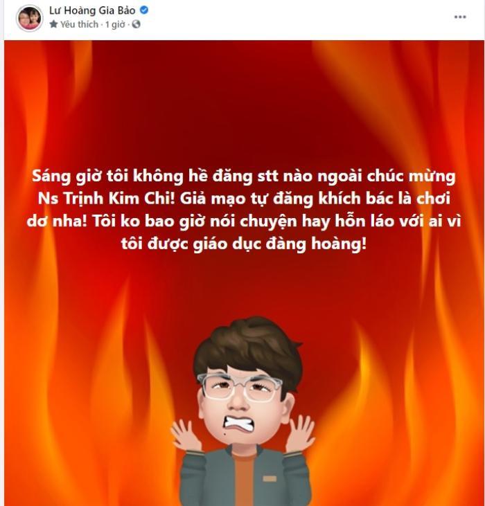 Con nuôi Hoài Linh phủ nhận chuyện hỗn với vợ chồng bà Hằng: 'Giả mạo tự đăng khích bác là chơi dơ' Ảnh 3