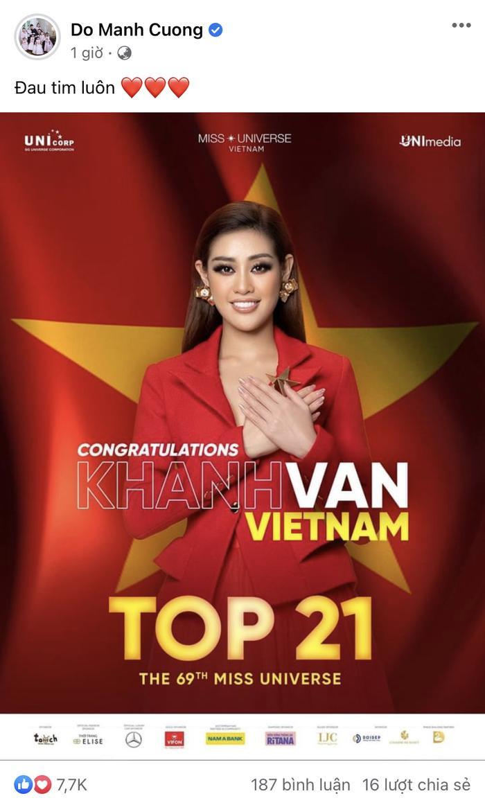 Loạt sao Việt gửi lời động viên Khánh Vân: 'Đừng buồn! Ở nhà có chị em chờ' Ảnh 5