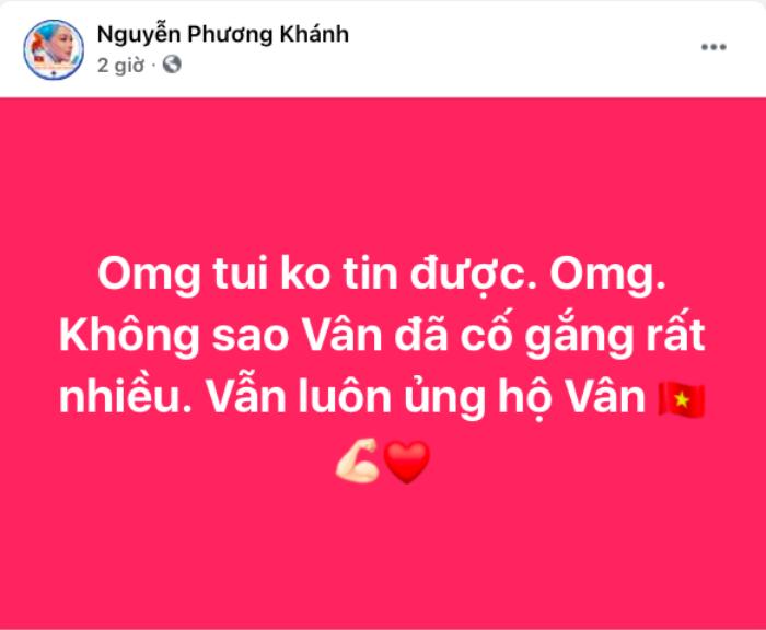Loạt sao Việt gửi lời động viên Khánh Vân: 'Đừng buồn! Ở nhà có chị em chờ' Ảnh 8