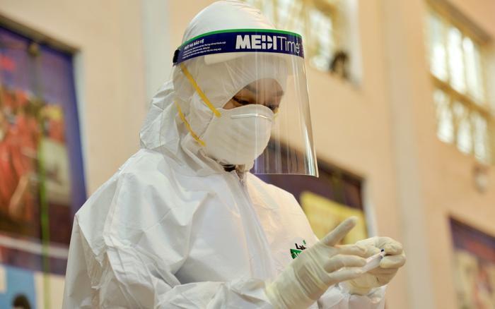 Hà Nội: Thêm 1 trường hợp tại Bệnh viện Phổi Trung ương dương tính SARS-CoV-2 Ảnh 1