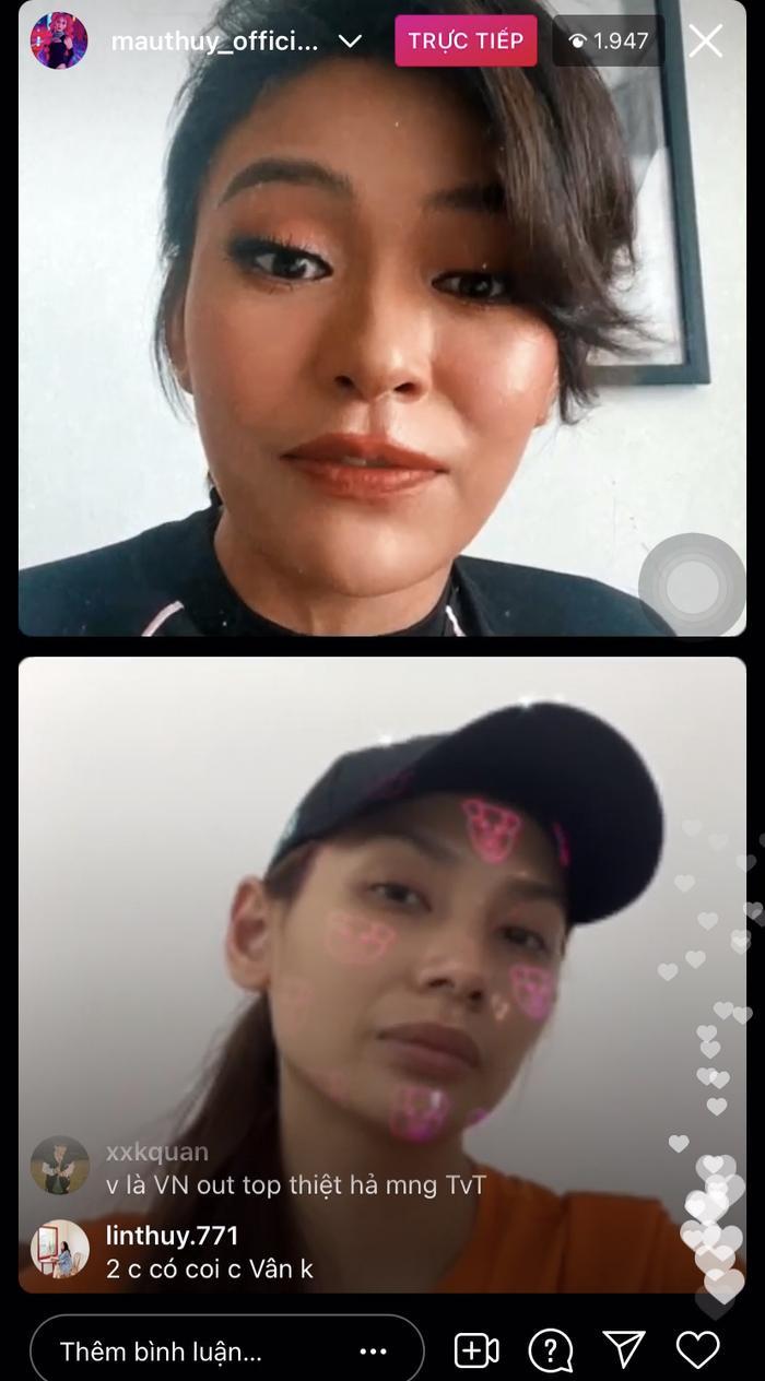 Mâu Thuỷ livestream trò chuyện cùng Võ Hoàng Yến, hé lộ thời gian Khánh Vân về nước sau Miss Universe Ảnh 3
