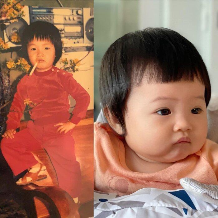 'Lịm tim' trước khoảnh khắc bé Subeo dù bận học online vẫn tranh thủ chăm em gái Suchin Ảnh 6