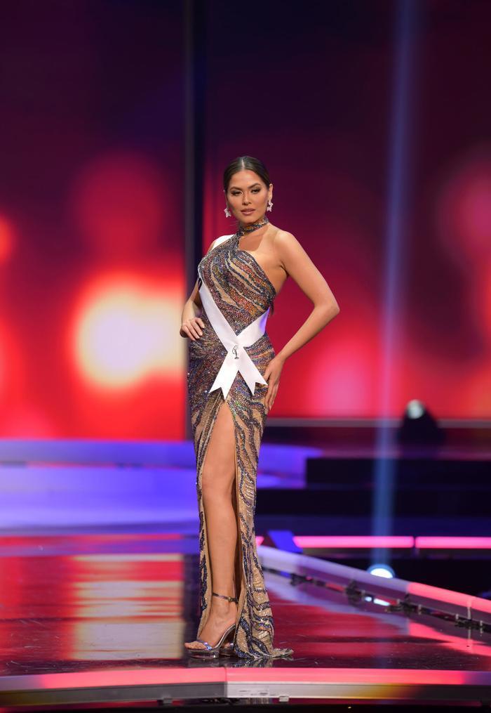 Tân Hoa hậu Hoàn Vũ body thô, đùi to nhưng vẫn chinh phục được loạt váy cắt xẻ Ảnh 4