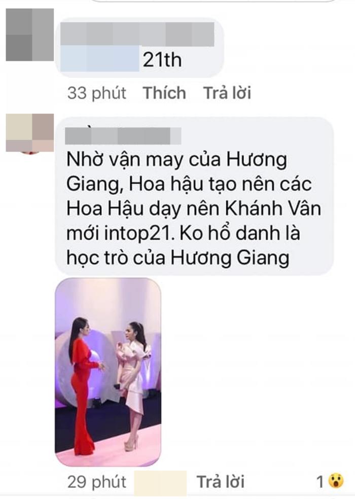 Xôn xao tranh cãi về Khánh Vân hậu Miss Universe 2020: 'Nhờ vận may của Hương Giang mới lọt top 21'? Ảnh 2