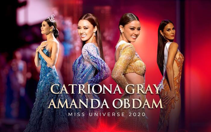 Amanda Obdam - bản sao hoàn hảo của Catriona Gray: Xứng danh 'Mèo xanh' của xứ sở chùa Vàng Ảnh 1