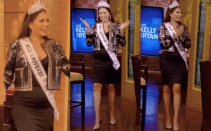 Mới đăng quang, Hoa hậu Hoàn vũ 2020 Andrea Meza đã bị soi vòng eo bèo nhèo, ngấn mỡ Ảnh 7