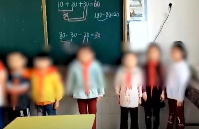 Học sinh không đóng tiền quyên góp, cô giáo bắt đứng trên bục giảng quay clip gửi phụ huynh Ảnh 1