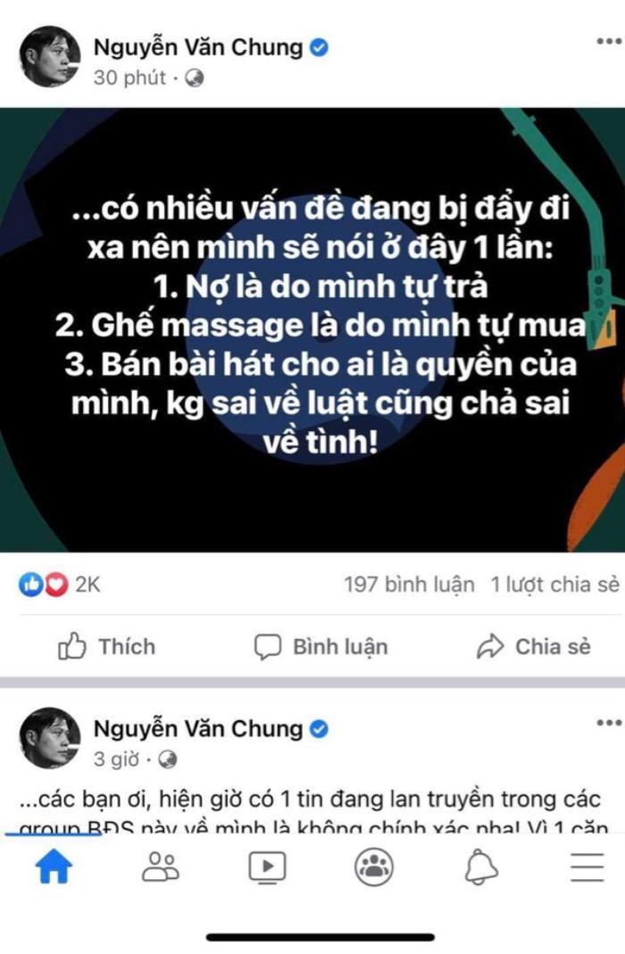 Giữa lùm xùm Nathan Lee mua loạt hit Cao Thái Sơn, Nguyễn Văn Chung: 'Không có chuyện tôi bán để trả nợ' Ảnh 3