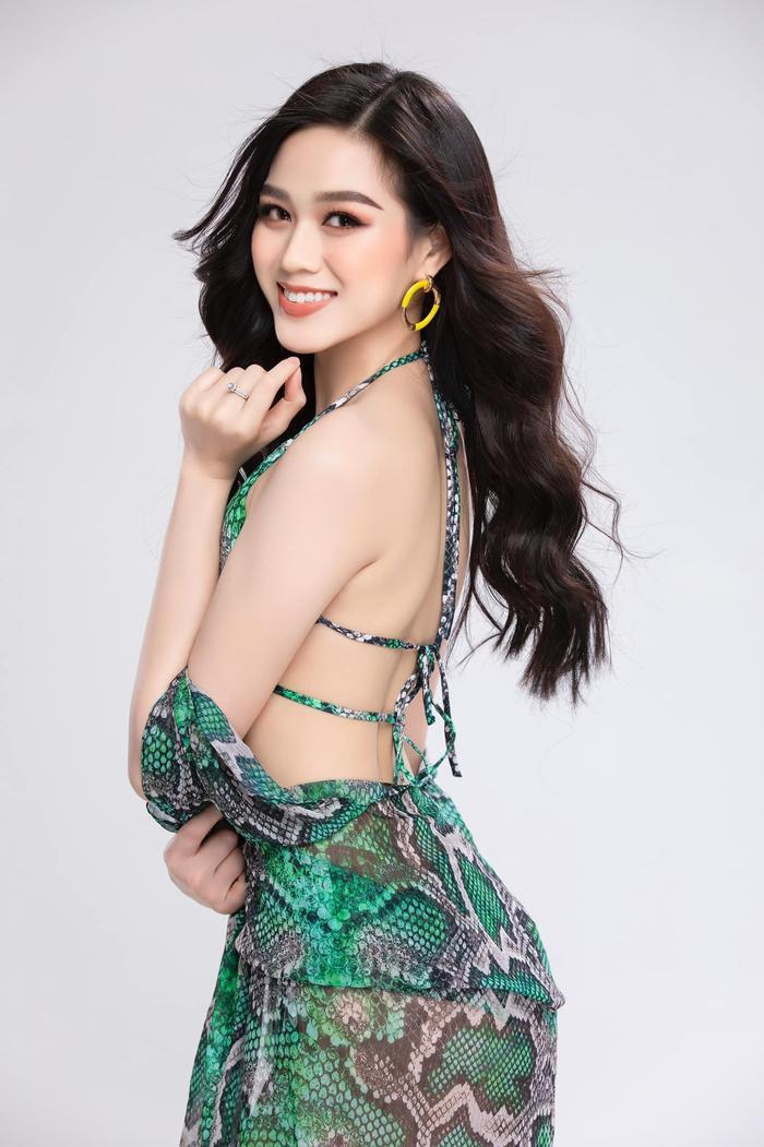 Fan 'đổ gục' trước sắc vóc kiêu sa của Đỗ Thị Hà: Sẵn sàng chinh phục vương miện Miss World 2021 Ảnh 4