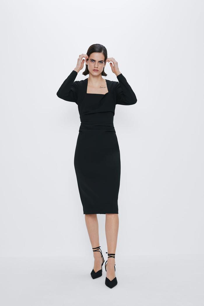 Little Black Dress - Bí quyết chọn mẫu váy đen huyền thoại theo từng dáng người Ảnh 6