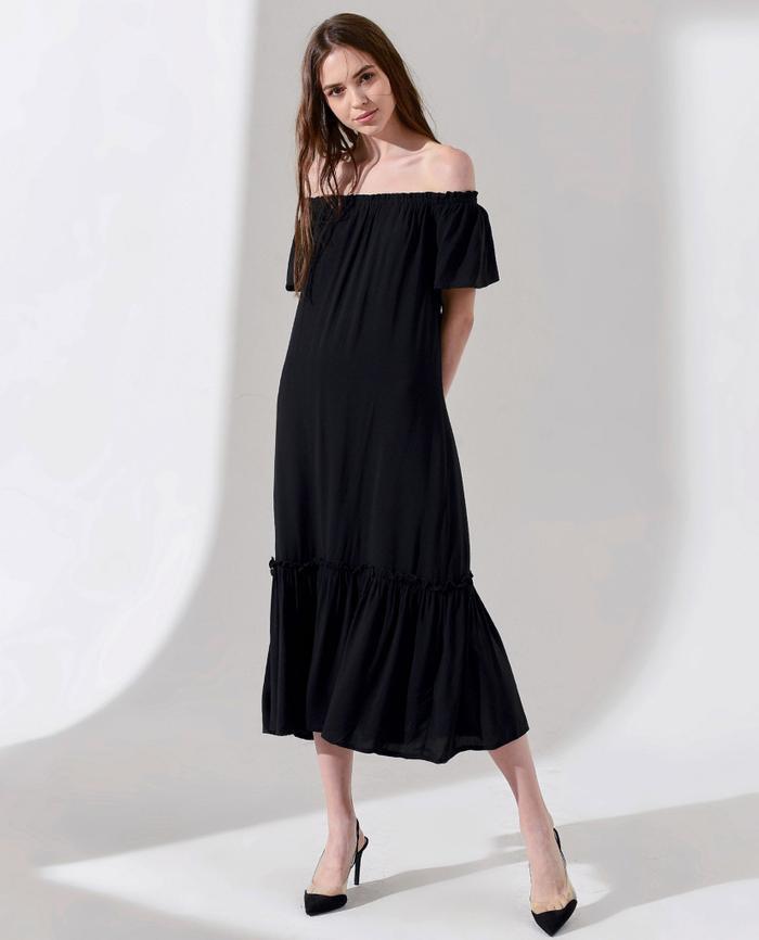 Little Black Dress - Bí quyết chọn mẫu váy đen huyền thoại theo từng dáng người Ảnh 5