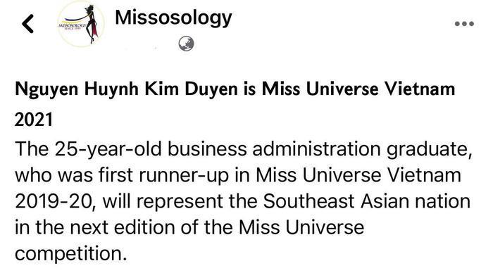 Á hậu Kim Duyên xuất hiện trên chuyên trang sắc đẹp Missosology Ảnh 2