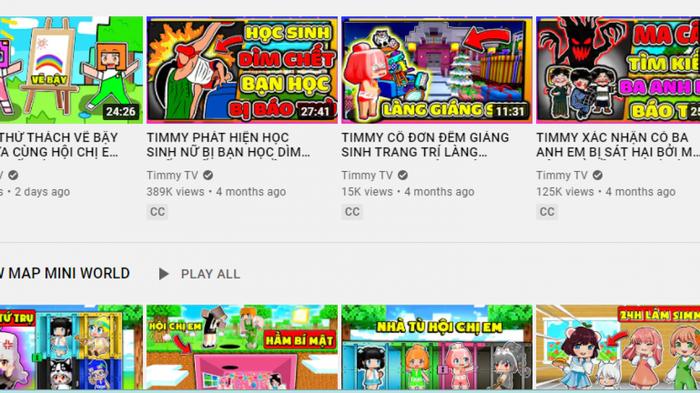 Sẽ xử lý nghiêm kênh YouTube Timmy TV có nội dung độc hại với trẻ em Ảnh 2