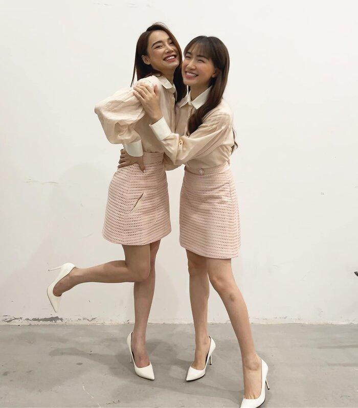 Đang 'so deep' hát mừng sinh nhật Nhã Phương, Hòa Minzy giật mình vì lời nhắc nhở này của Trường Giang Ảnh 3