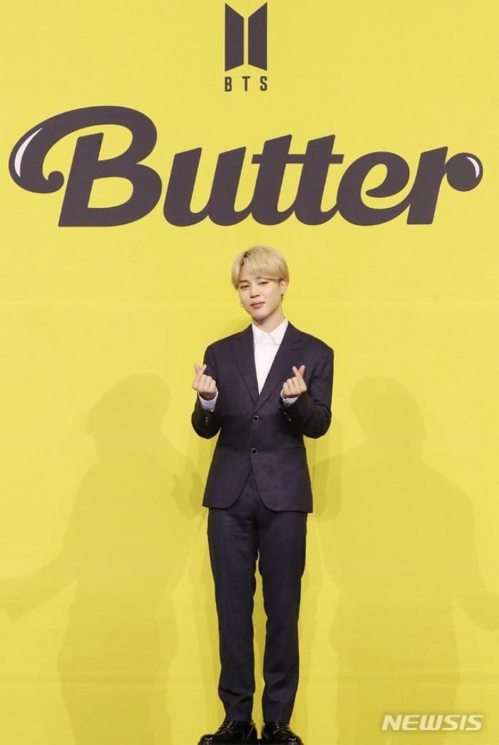 Ngắm nhìn loạt khoảnh khắc BTS 'thật là vàng tươi' trong họp báo comeback Butter Ảnh 50