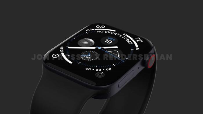 Apple Watch Series 7 lộ thiết kế giống với iPhone 12, loạt màu sắc 'lịm tim' khó cưỡng Ảnh 3
