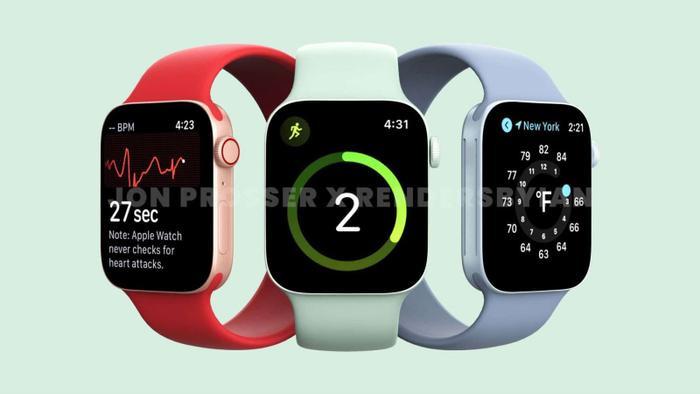 Apple Watch Series 7 lộ thiết kế giống với iPhone 12, loạt màu sắc 'lịm tim' khó cưỡng Ảnh 7