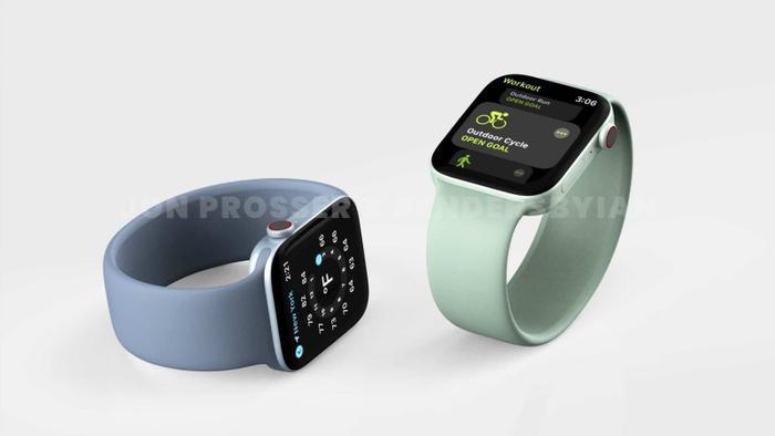 Apple Watch Series 7 lộ thiết kế giống với iPhone 12, loạt màu sắc 'lịm tim' khó cưỡng Ảnh 6