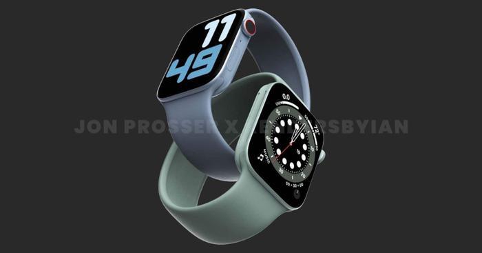 Apple Watch Series 7 lộ thiết kế giống với iPhone 12, loạt màu sắc 'lịm tim' khó cưỡng Ảnh 2