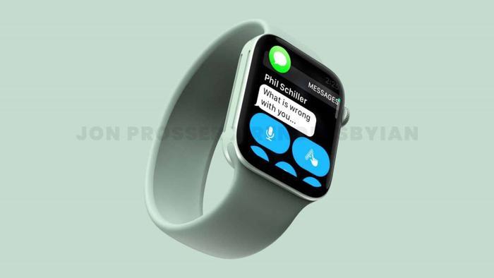 Apple Watch Series 7 lộ thiết kế giống với iPhone 12, loạt màu sắc 'lịm tim' khó cưỡng Ảnh 4
