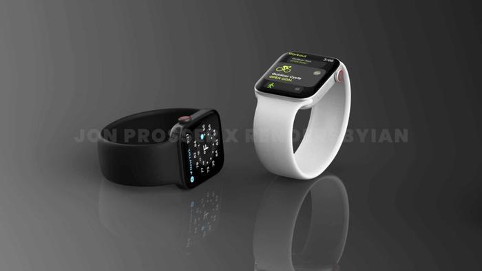 Apple Watch Series 7 lộ thiết kế giống với iPhone 12, loạt màu sắc 'lịm tim' khó cưỡng Ảnh 1