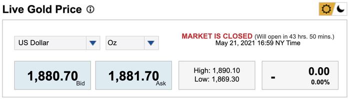 Giá vàng hôm nay 22/5: Tiếp tục tăng giá, vàng lên ngưỡng cao nhất kể từ đầu năm Ảnh 1