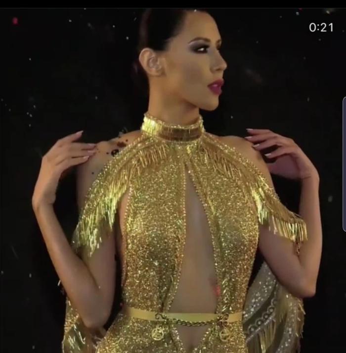 Xôn xao tin đồn váy đăng quang của Hoa hậu Hoàn vũ 2020 là hàng 'đạo nhái' Ảnh 4