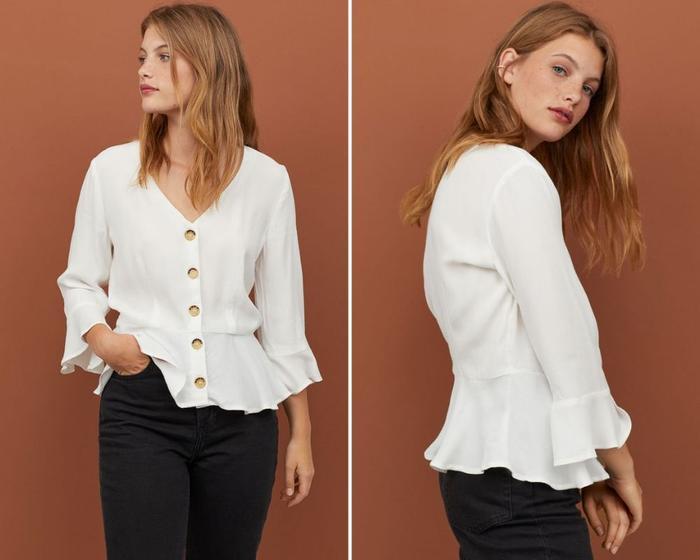 6 kiểu áo sơ mi trắng kinh điển nàng sành điệu không thể bỏ qua Ảnh 8