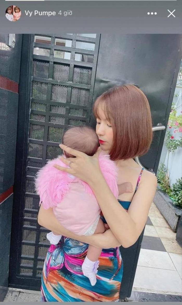 Bị anti-fan chê bai bắt chước Winnie nhà Đông Nhi, vợ Mạc Văn Khoa đáp trả 'cực căng' Ảnh 1