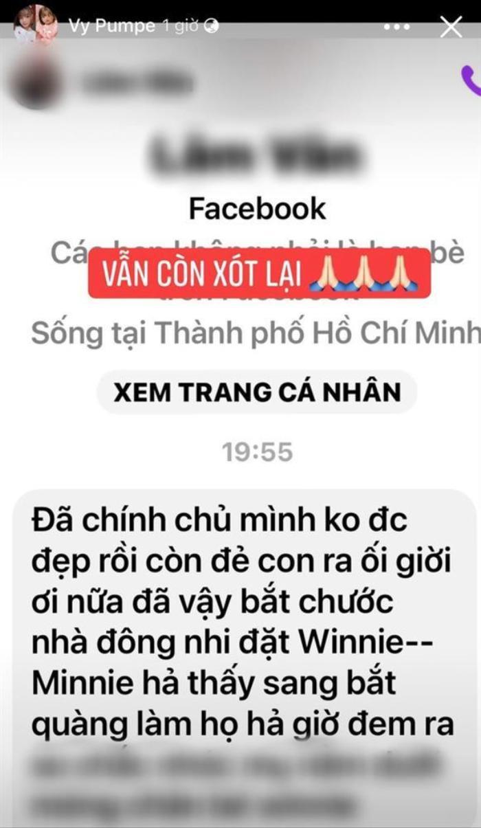 Bị anti-fan chê bai bắt chước Winnie nhà Đông Nhi, vợ Mạc Văn Khoa đáp trả 'cực căng' Ảnh 2