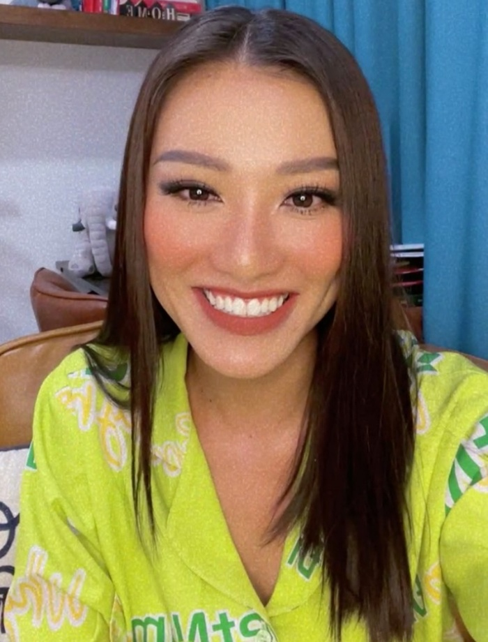 Á hậu Kim Duyên luyện tập đến ói mửa, hé lộ điều sẽ mang đến Miss Universe 2021 Ảnh 2