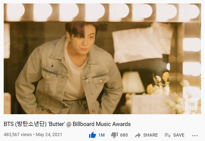 Fan 'nổi điên' khi lượt view Stage Butter của BTS tại Billboard Music Awards 2021 'bất động' Ảnh 4