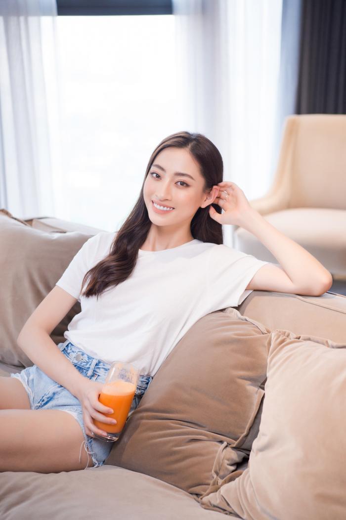 Sau gần 2 năm đương nhiệm, Hoa hậu Lương Thuỳ Linh tậu penthouse giữa lòng Hà Nội khiến ai cũng trầm trồ Ảnh 9
