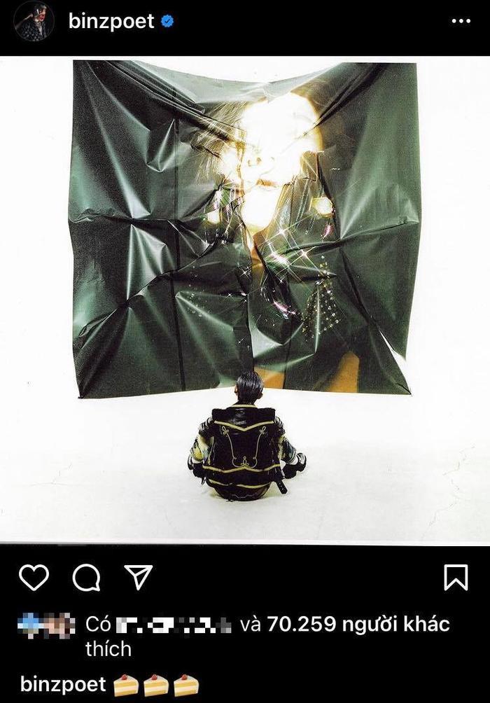 Binz chơi lớn ngày sinh nhật, đăng luôn ảnh chụp chung với Châu Bùi? Ảnh 1