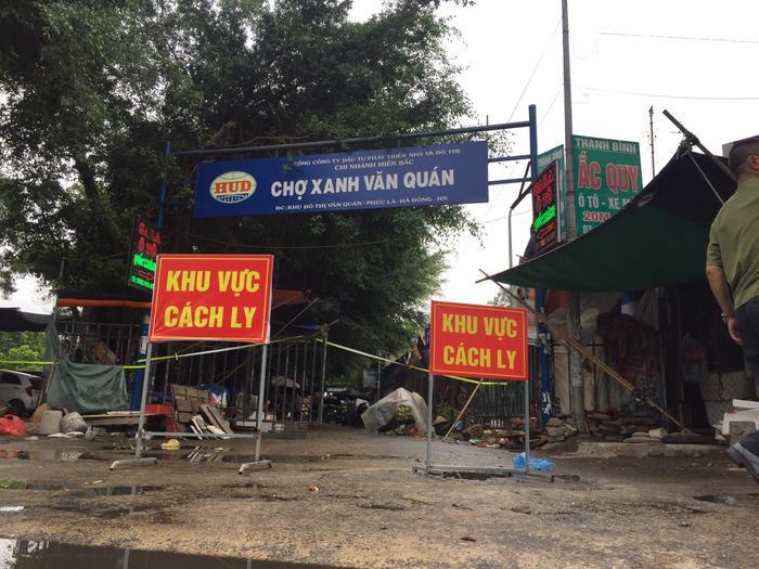 Hà Nội: Phong toả chung cư CT3B Khu đô thị Văn Quán sau khi phát hiện ca dương tính SARS-Cov-2 Ảnh 1
