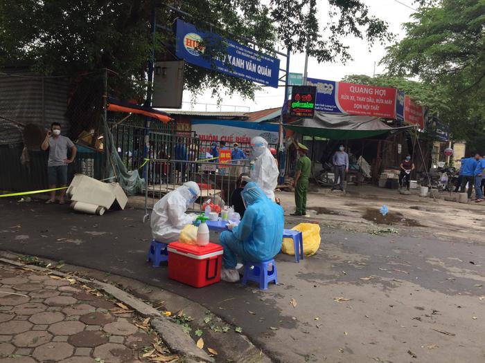Hà Nội: Phong toả chung cư CT3B Khu đô thị Văn Quán sau khi phát hiện ca dương tính SARS-Cov-2 Ảnh 2