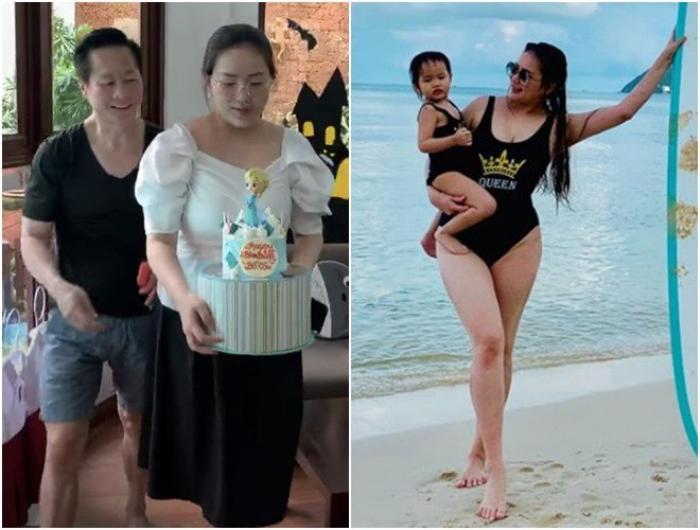 Phan Như Thảo được chồng hơn 26 tuổi cưng như bà hoàng, trao hết tài sản, đút tôm cho ăn Ảnh 2