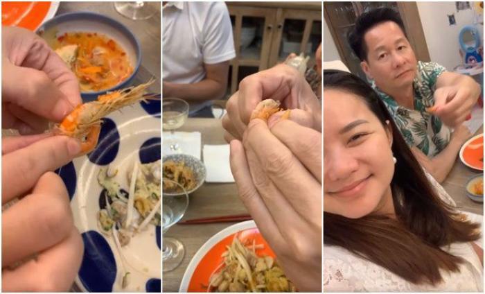 Phan Như Thảo được chồng hơn 26 tuổi cưng như bà hoàng, trao hết tài sản, đút tôm cho ăn Ảnh 3